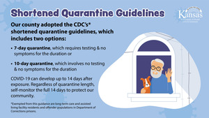 New Quarantine Guidelines