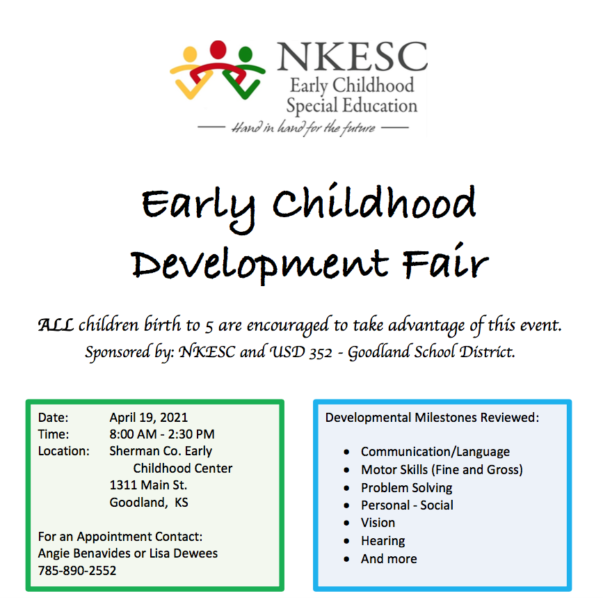Early Childhood Screening 4/19/21